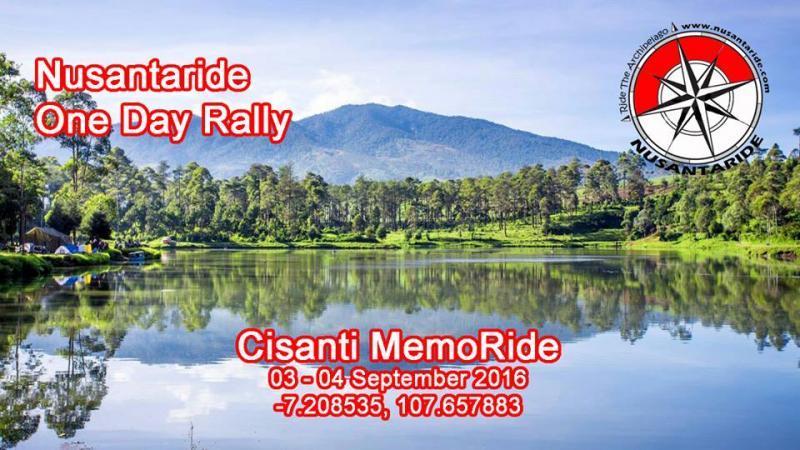 Nusantaride One Day Rally, Cisanti MemoRide