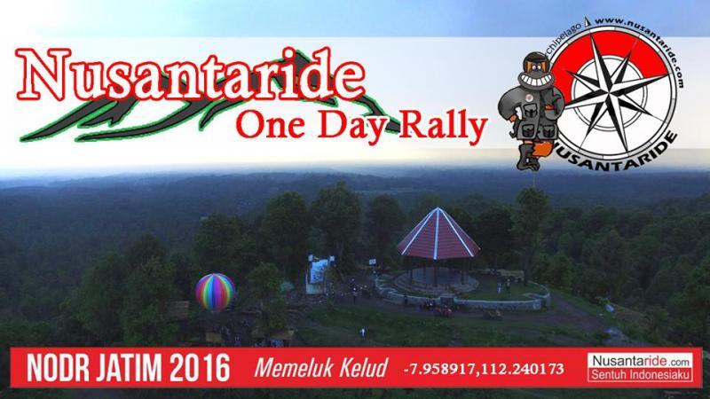 Nusantaride One Day Rally, Memeluk Kelud