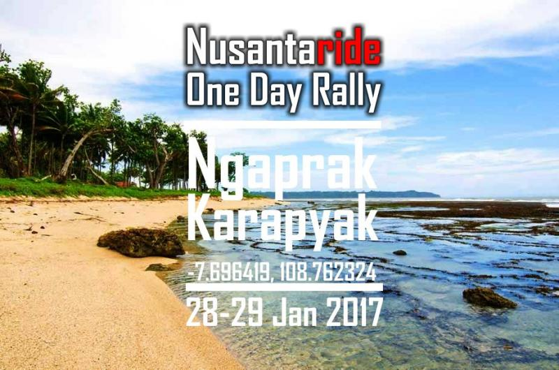 Nusantaride One Day Rally | Ngaprak Karapyak