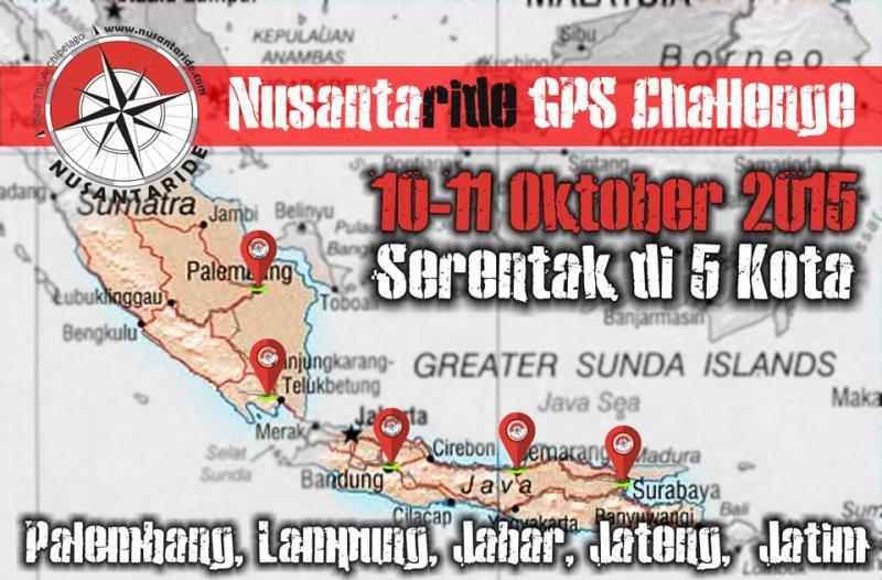 GPS Challenge Serentak di 5 Kota