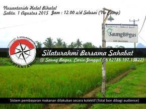 Halal Bihalal Nusantaride